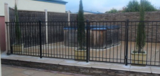 Powder Coated Tube Fencing