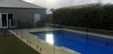 Fully Frameless Glass Pool Fencing
