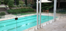 Fully Frameless Glass Pool Fencing