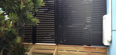 Aluminium Slat Screen Fencing